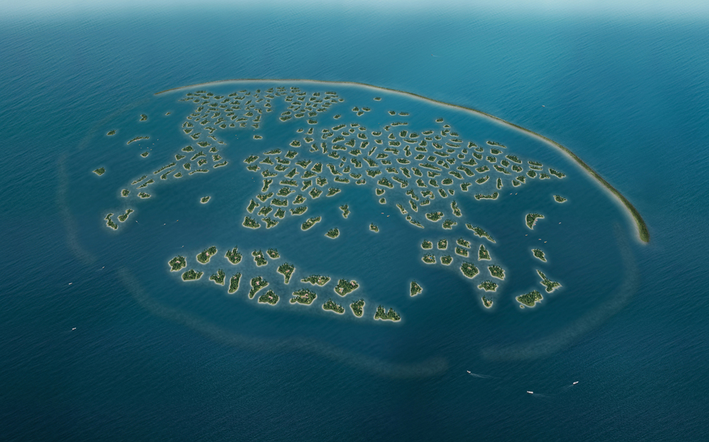 world island- artificial islands